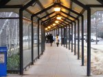 tunneled walkway